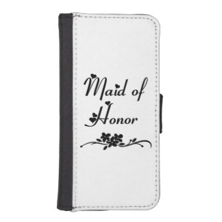Wedding Maid of Honor iPhone SE/5/5s Wallet