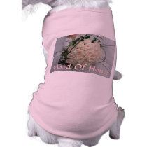 Wedding Maid Of Honor Pet Clothing