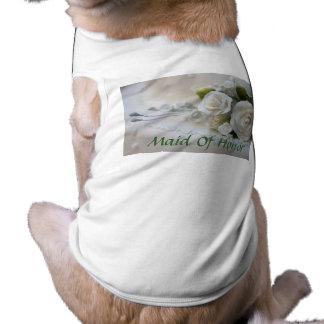 Wedding Maid Of Honor Pet Clothing