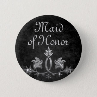 Wedding Maid of honor Pinback Button