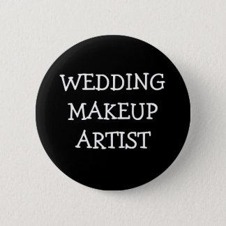 Wedding Makeup Artist Pinback Button
