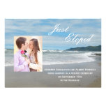 Wedding Marriage Elopement Announcement Invitation Personalized Invite