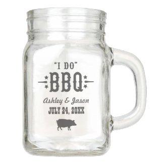 Wedding Mason Jar | I Do BBQ