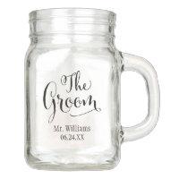 Wedding Mason Jar   The Groom