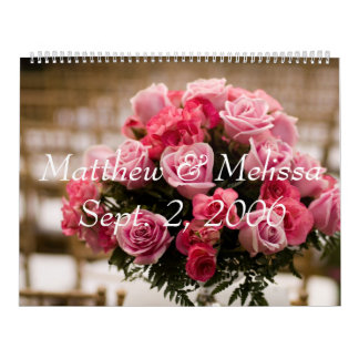 Wedding, Matthew & Melissa Sept. 2, 2006, graduati Calendar