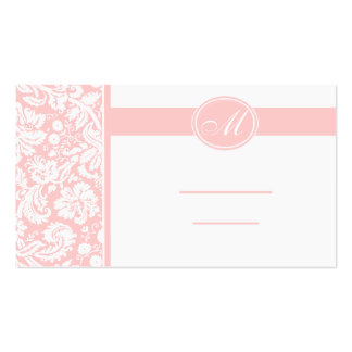 Wedding Meal Place Setting Cards, Color Select Double-Sided Standard Business Cards (Pack Of 100)