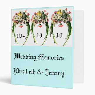 Wedding Memories 3 Ring Binder