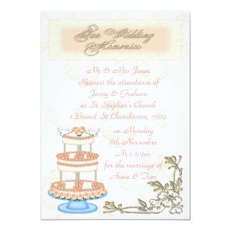Wedding Memories 5x7 Paper Invitation Card