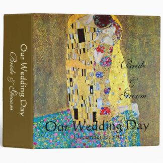 Wedding Memories; The Kiss by Gustav Klimt Vinyl Binders