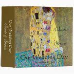 Wedding Memories; The Kiss by Gustav Klimt Binders