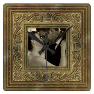 wedding memory photo clock