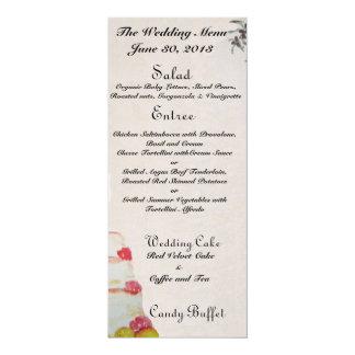 Wedding Menus Card
