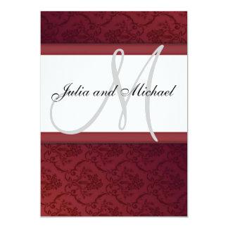 Wedding Monogram Invites