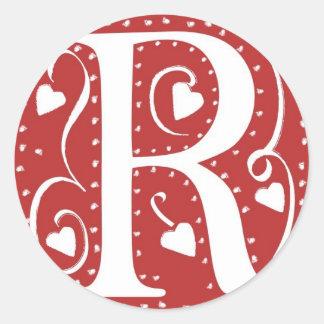Wedding Monogram Sticker