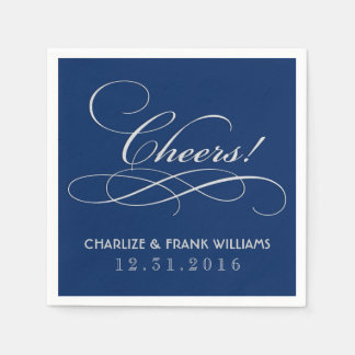 Wedding Napkins | Cheers Custom Design