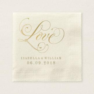 Wedding Napkins | Love Custom Design