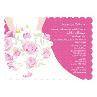 Wedding Nosegay Bridal Shower Invitation