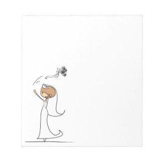 wedding notes note pad