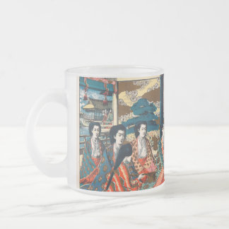 Wedding of Crown Prince Yoshihito Frosted Glass Coffee Mug