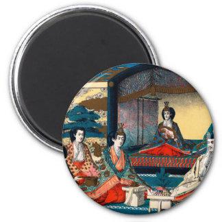 Wedding of Crown Prince Yoshihito 2 Inch Round Magnet