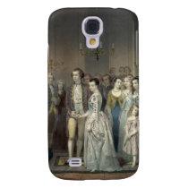 Wedding of George Washington iPhone 3 case
