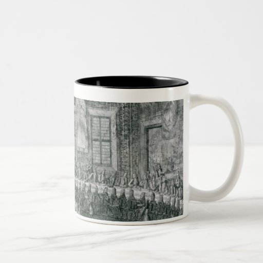 Wedding of Peter I  and Catherine  in the Winter Mugs