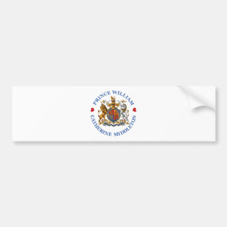 Wedding of Prince William and Catherine Middleton Bumper Sticker