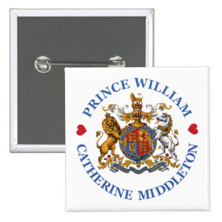 Wedding of Prince William and Catherine Middleton Pin