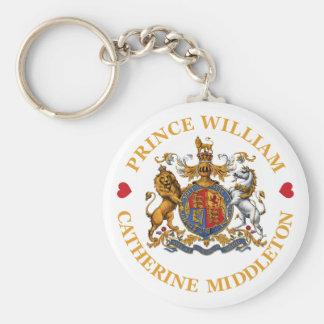 Wedding of Prince William and Catherine Middleton Keychain