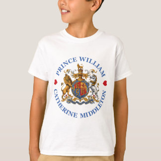 Wedding of Prince William and Catherine Middleton T-Shirt