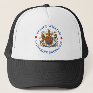 Wedding of Prince William and Catherine Middleton Trucker Hat