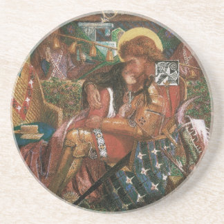 Wedding of St George, Princess Sabra by Rossetti Drink Coaster