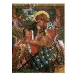 Wedding of St George, Princess Sabra by Rossetti Postcard