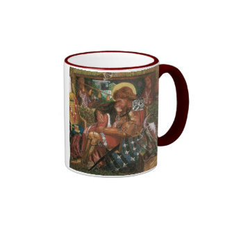 Wedding of St George, Princess Sabra by Rossetti Ringer Coffee Mug