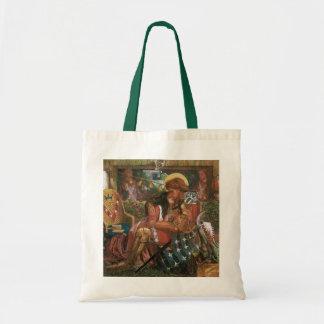 Wedding of St George Princess Sabra Dante Rossetti Canvas Bags