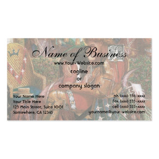 Wedding of St George Princess Sabra Dante Rossetti Double-Sided Standard Business Cards (Pack Of 100)