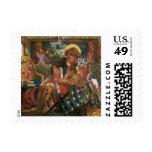Wedding of St George Princess Sabra Dante Rossetti Postage Stamp