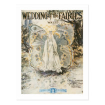 Wedding of the Fairies Postcard