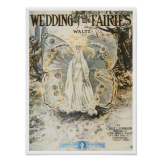 Wedding of the Fairies Poster
