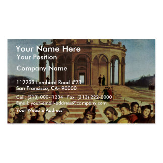 Wedding Of The Virgin By Raffael Double-Sided Standard Business Cards (Pack Of 100)