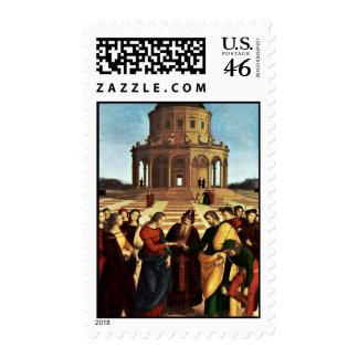 Wedding Of The Virgin By Raffael Stamps