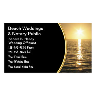 Wedding Officiant Business Cards