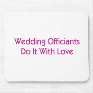 Wedding Officiants Mouse Pad