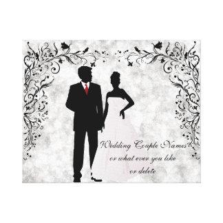 Wedding or Anniversary Memento Canvas Print