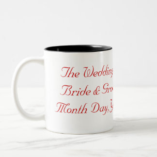 Wedding or Anniversary Mug