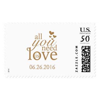 Wedding or Shower Stamp