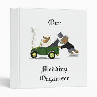Wedding Organiser Binder