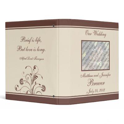 Wedding Organizer and Photo Memory Book Binders by CustomWeddingDesigns