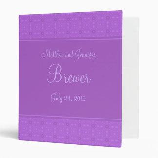 Wedding Organizer Planning Binder and Memory Book 3 Ring Binder