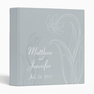 Wedding Organizer Planning Binder and Memory Book Vinyl Binder
